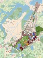 Mapa numeryczna z programu do geodezji