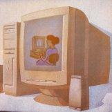 wyobrażenie - komputer